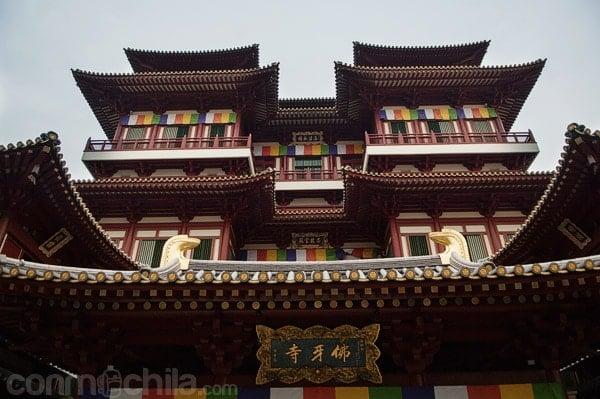 Fachada del Buddha Tooth Relic Temple