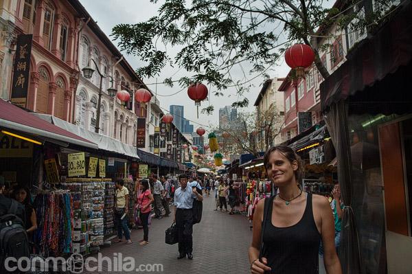 Carme en la calle Pagoda Street