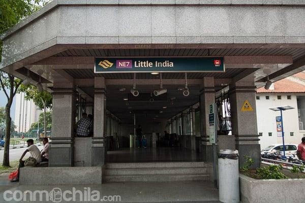 Parada del metro de Little India