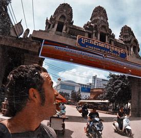Frontera Camboya Tailandia