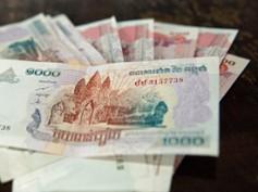 El riel, la moneda de Camboya y los cajeros automáticos