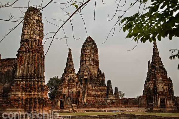 Primera aproximación a Wat Chaiwatthanaram