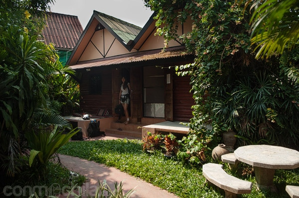 Nuestro bungalow por fuera