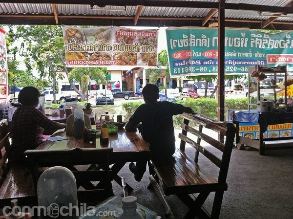 Lugar donde comer algo antes de irte