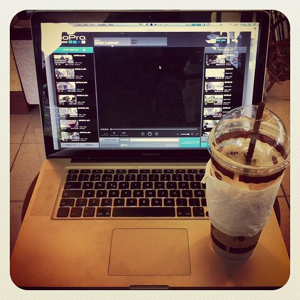 Nuestro cappuccino de Instragram