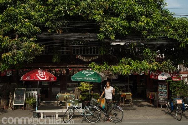 Entrada del Coffee Old City Ayutthaya