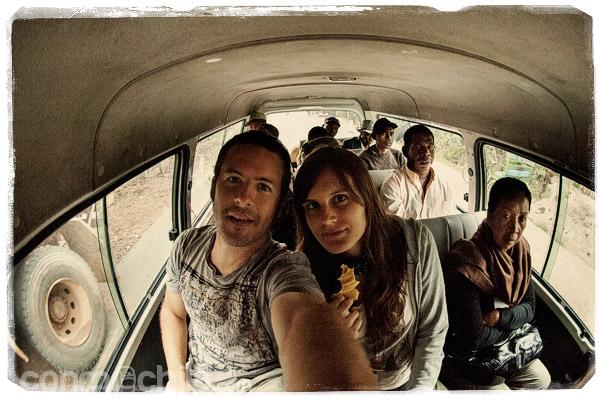 Nuestro último viaje en taxi-brousse