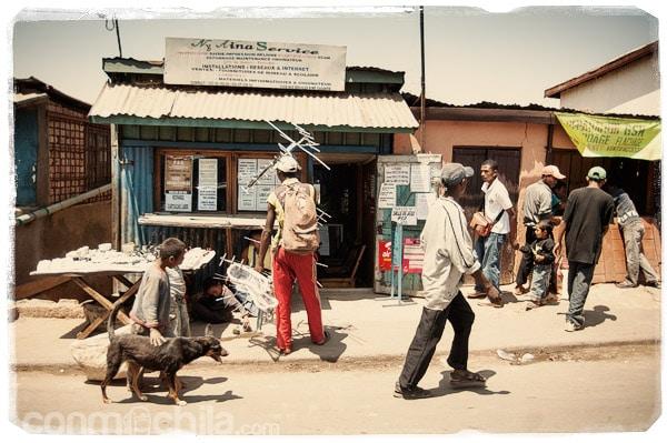 Calles de Antananarivo