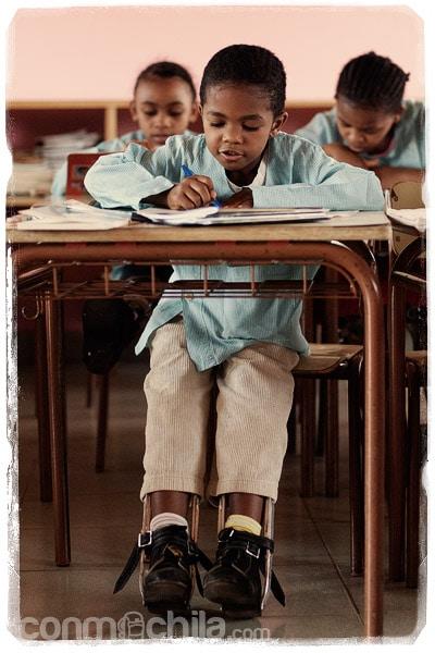 Los niños en clase