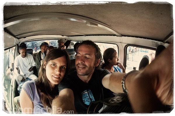 Nuestros viajes en taxi-brousse