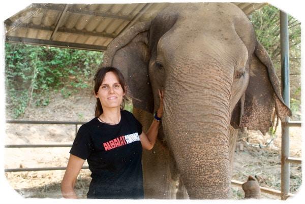 Foto-recuerdo con Songkran