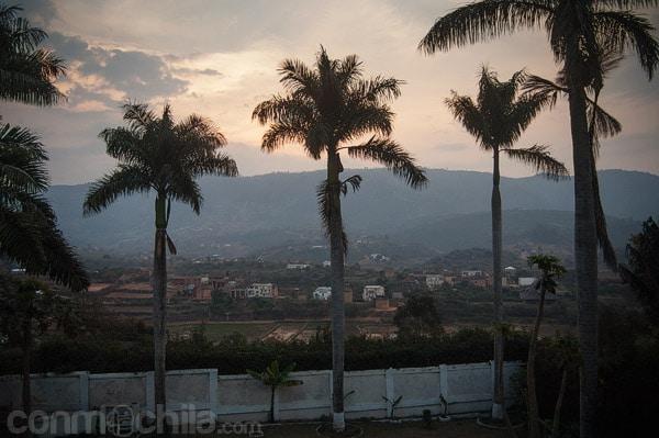 Preciosas vistas de la montaña de Ambositra