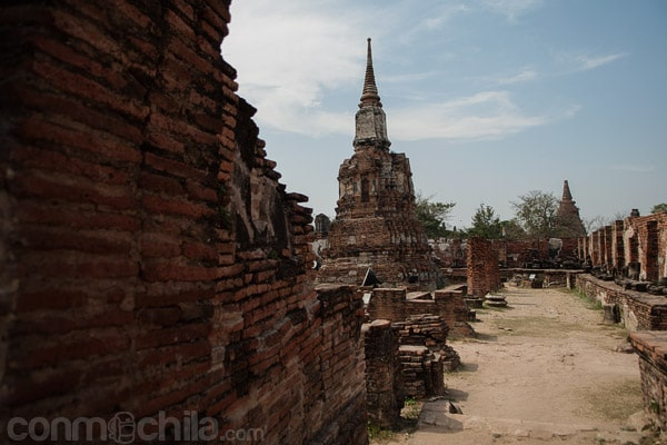 Una estupa del templo