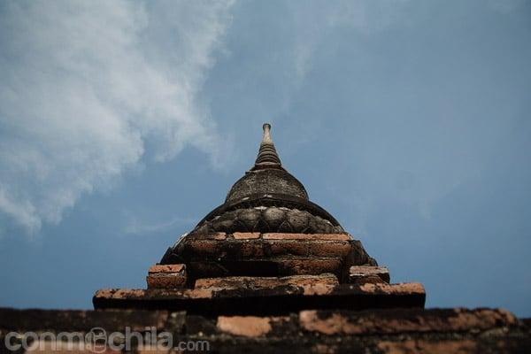 Vista de una estupa