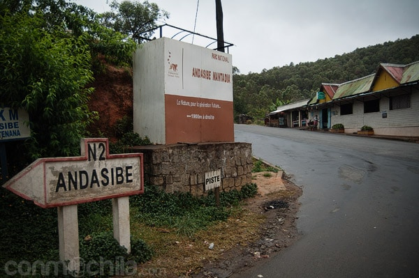 Llegada a Andasibe