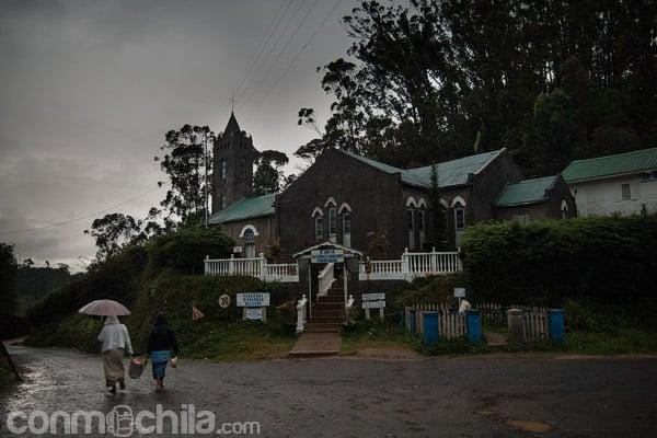 La iglesia de Andasibe