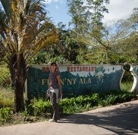 Hotel Feon'ny Ala de Andasibe, al lado mismo de los indris
