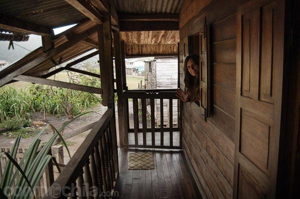 Nuestro hotel de madera en Andasibe