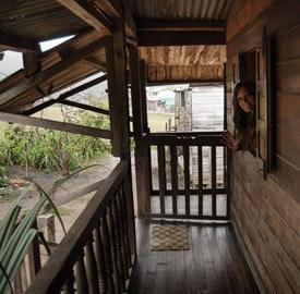 Hotel Les Orchidées, nuestra casita de madera de Andasibe