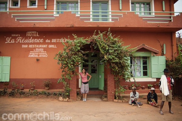 La fachada de La Résidence du Betsileo