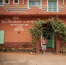 La Résidence du Betsileo, nuestro hotel en Ambalavao