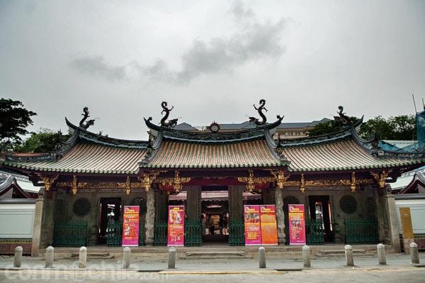 El templo Thian Hock Keng