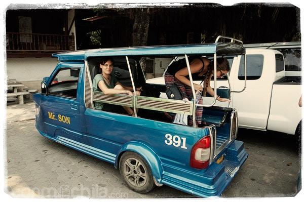 De turismo en tuk-tuk