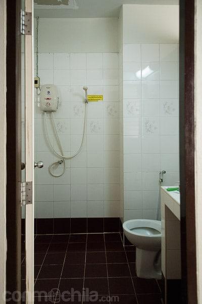 El baño, limpio como ninguno