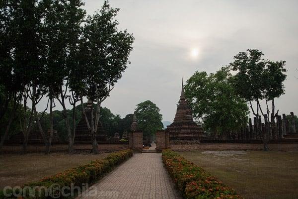 Exterior del templo Wat Maha That