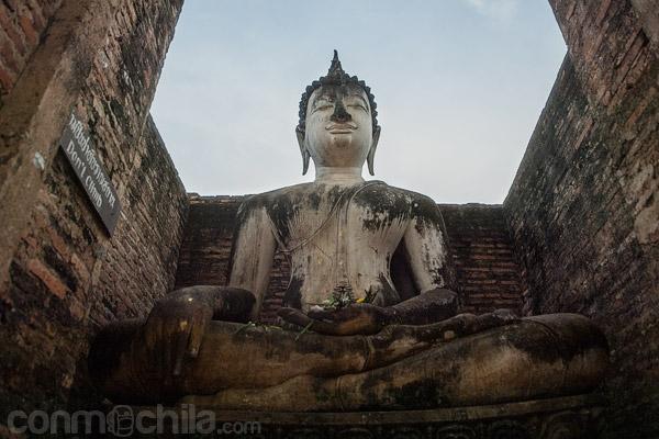 Primer plano de la imagen de Buda