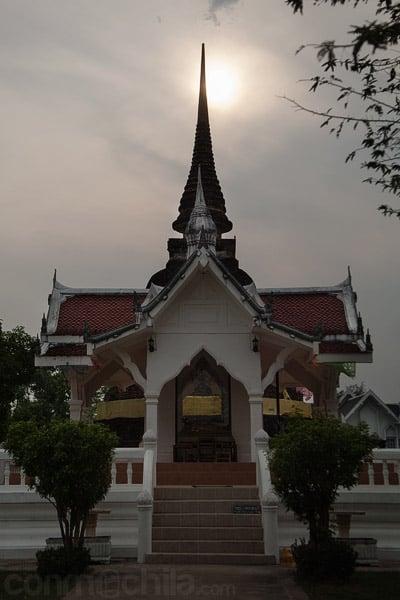 El templo actualmente en uso