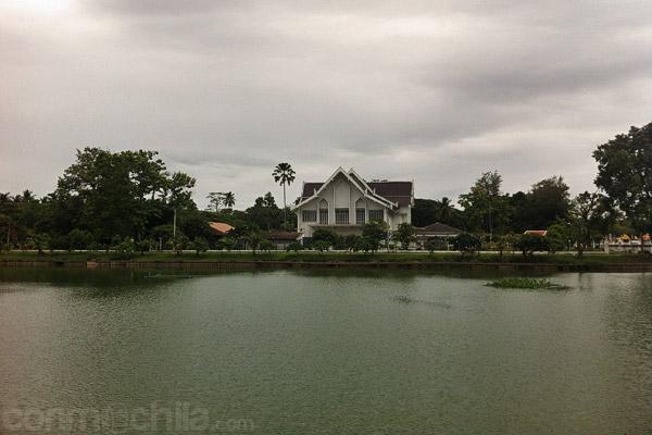 Detalle del estanque