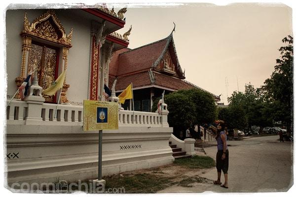 En Wat Ratchaburana de Phitsanulok
