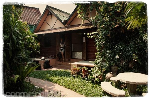 Nuestra guesthouse en Sukhothai