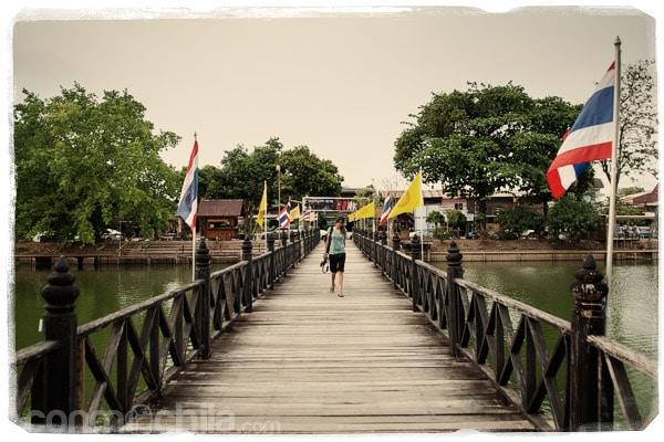 El primero de los templos de Sukhothai