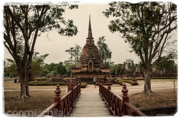 Otra foto de los templos