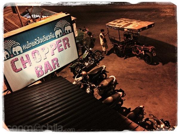 El Chopper Bar de Sukhothai