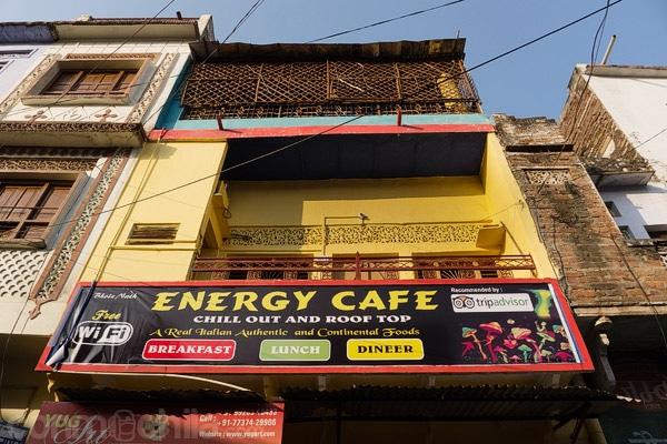 Fachada del Energy Café