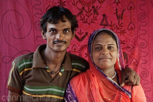 El matrimonio dueño del lugar