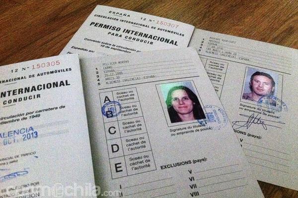 Carnet de conducir internacional o permiso internacional de conducir