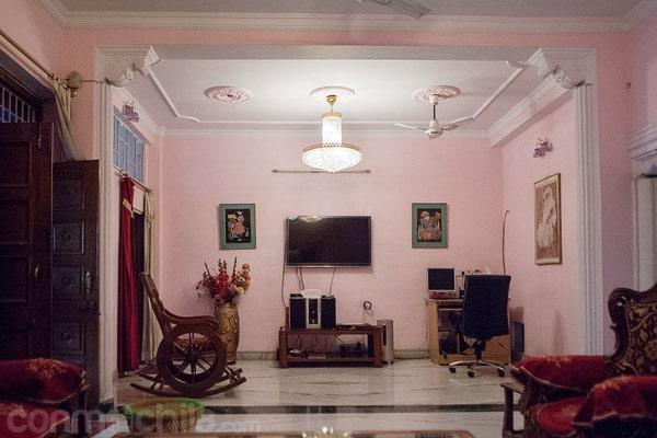 Salón de estar de la primera planta