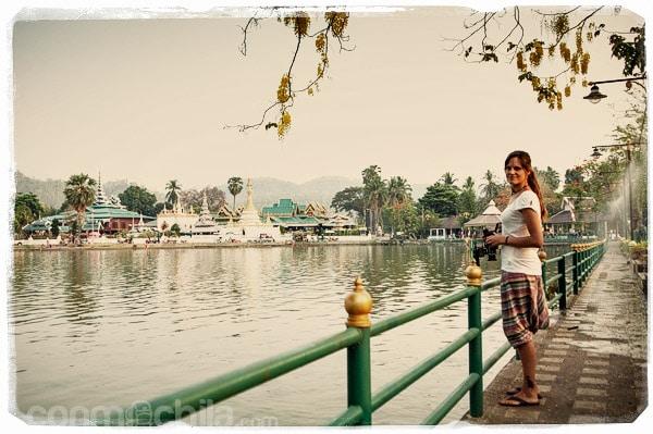 El bonito lago de Mae Hong Song