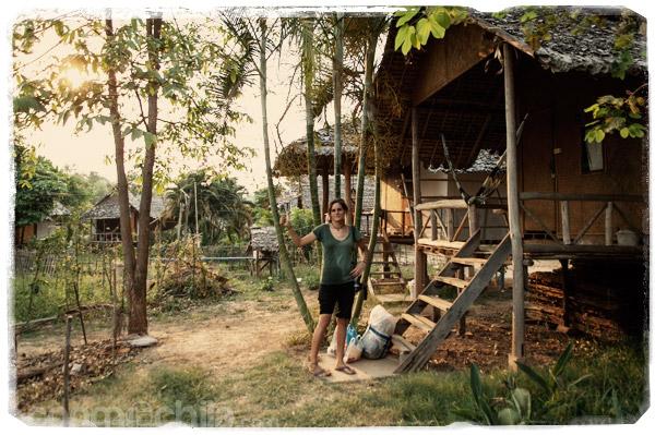 Fin del recorrido: nuestra cabaña en Pai
