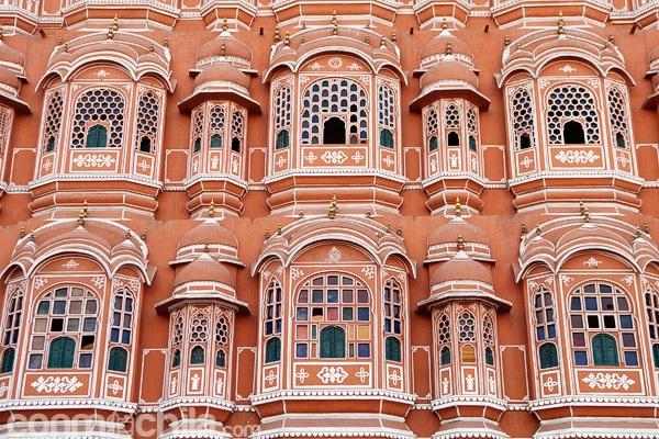 Detalle de los balcones