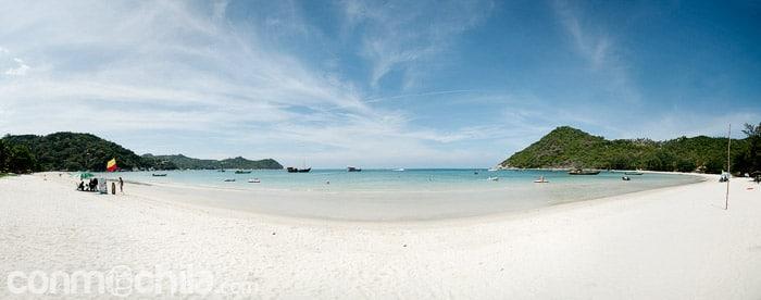 Una de las playas de Ko Phangan