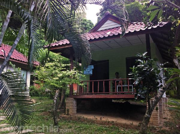 Nuestro bungalow en Ton Sai