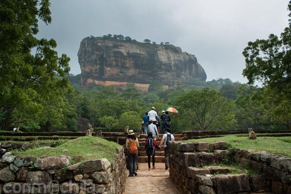 Lion Rock de Sigiriya