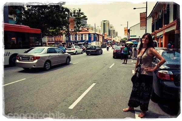 Este tráfico.... seguimos en Singapur, sin duda alguna