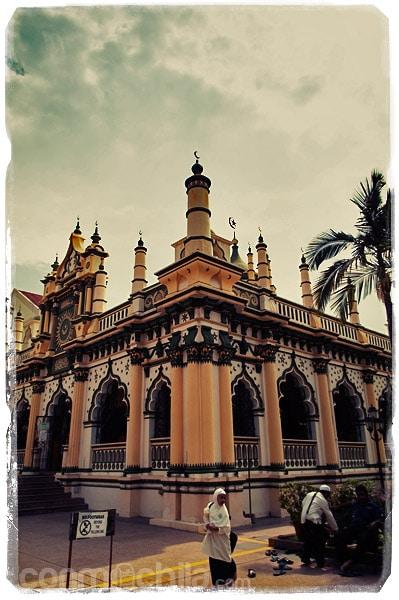 Una de las mezquitas