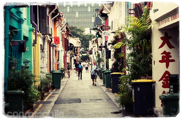 Haji Lane: la calle más pequeña de Singapur